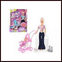 Кукла с ребенком и аксессуарами Defa Lucy 20958