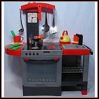 Детская кухня с духовкой и посудой 011