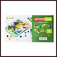Деревянная мозаика Cubika «Wooden pixel 5» PIRATES 14910 на 400 пикселей