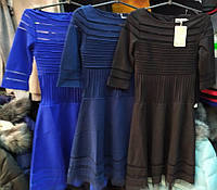 Брендовое платье MIU NIU 1604 синий S,M,L