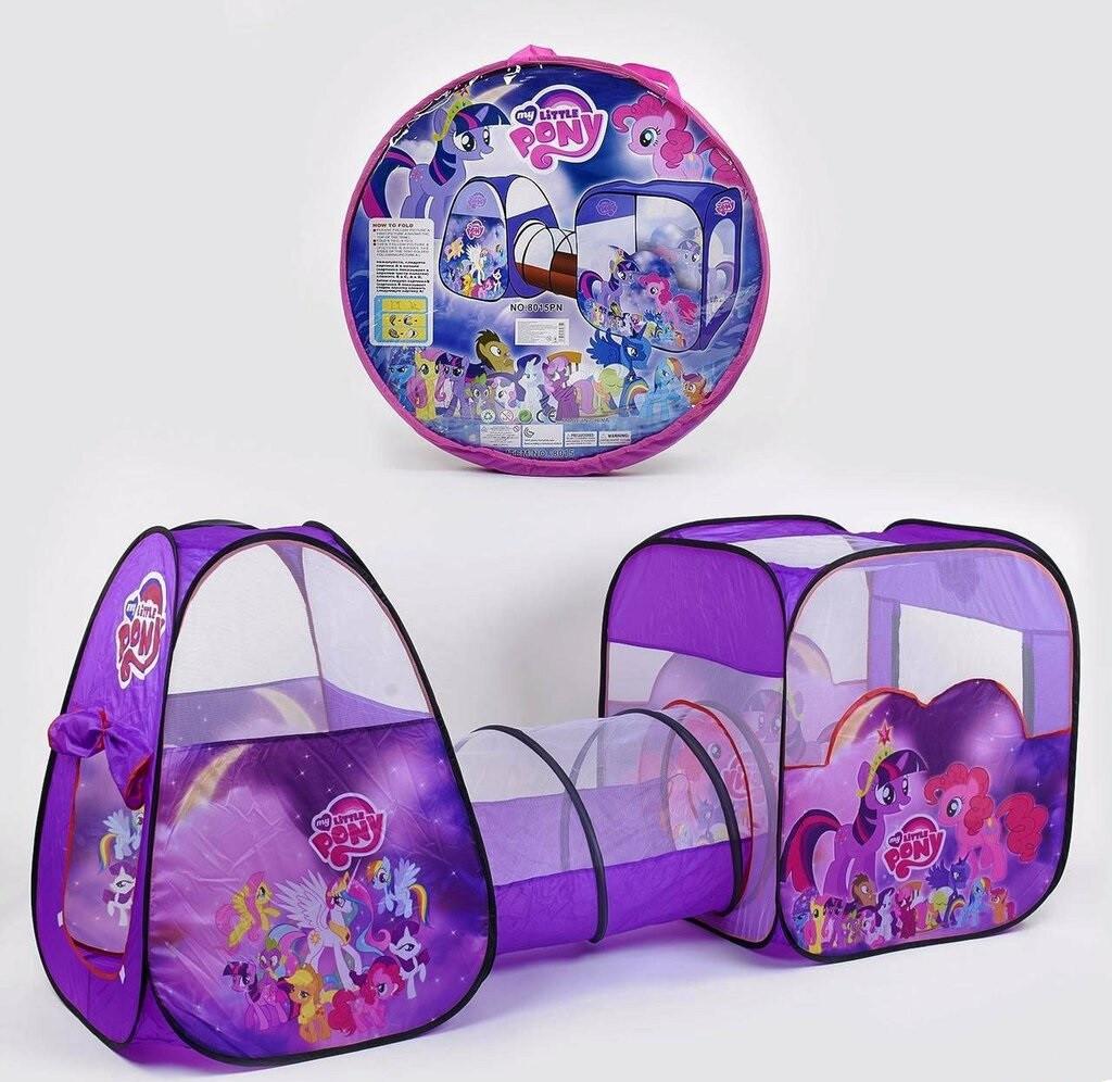 Палатка детская с тоннелем Пони в сумке 270х92х92 см