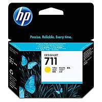 Картридж HP 711 Yellow (CZ132A) для DesignJet 120/ 520/ 525/ 530