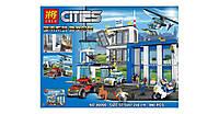 """Конструктор Lele 39059 (Аналог Lego City 60047) """"Полицейский участок"""" 890 деталей, фото 1"""