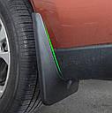 Брызговики MGC Mitsubishi Outlander Мицубиси Аутлендер 2012-2014 гв комплект 4 шт MZ314664, 5370B627, 5370B628, фото 6