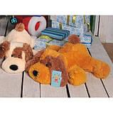 Мягкая игрушка Собака 75 см медового цвета, фото 2