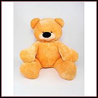 Большая мягкая игрушка медведь 77 см цвет медовый
