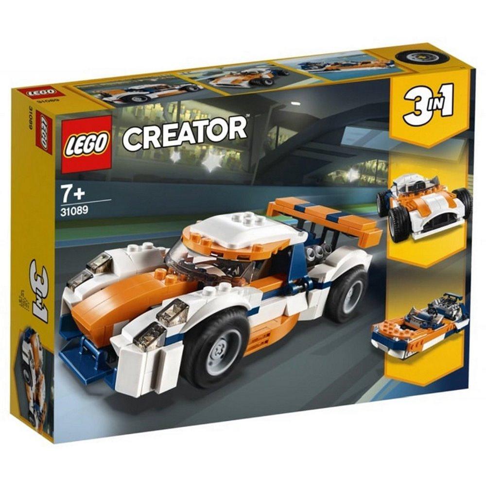 Лего Creator Гоночний автомобіль у Сансет 31089