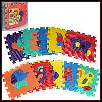 Игровой коврик Мозаика Животные, 10 деталей, 31,5х31,5 см M 2617