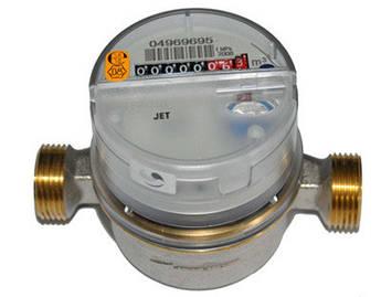 Лічильник на холодну воду sensus residia jet ду15 Q3 2.5