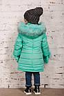 Зимнее пальто с рукавичками для девочек - сезон 2019 - (модель КТ-515), фото 6