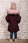 Зимнее пальто с рукавичками для девочек - сезон 2019 - (модель КТ-515), фото 5