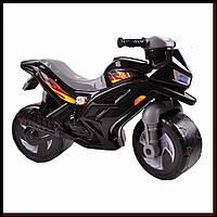 Беговел мотоцикл 2-х колесный ORION 501-1Black Черный толокар