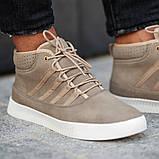 Мужские кроссовки South Steel Beige, классические бежевые кроссовки на осень, фото 6