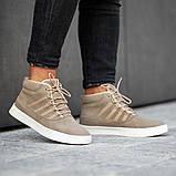 Мужские кроссовки South Steel Beige, классические бежевые кроссовки на осень, фото 3