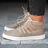 Мужские кроссовки South Steel Beige, классические бежевые кроссовки на осень, фото 5