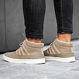 Мужские кроссовки South Steel Beige, классические бежевые кроссовки на осень, фото 4