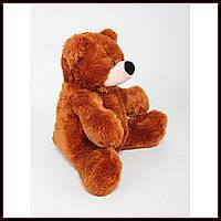 Большая мягкая игрушка медведь 77 см цвет коричневый
