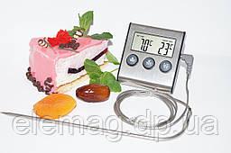 Кухонный термометр с выносным щупом и таймером (видео описание)