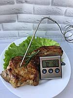 Термометр для мяса с выносным щупом и таймером, фото 1