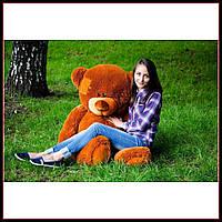 Огромный плюшевый мишка Потапыч мягкая игрушка 160 см коричневый цвет
