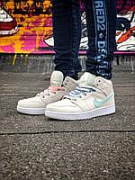 Женские кроссовки Air Jordan 1 Retro High, Реплика, фото 1