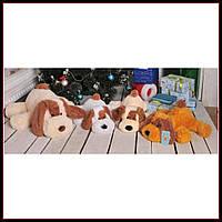 Большая мягкая игрушка Собака 110 см медовый цвет