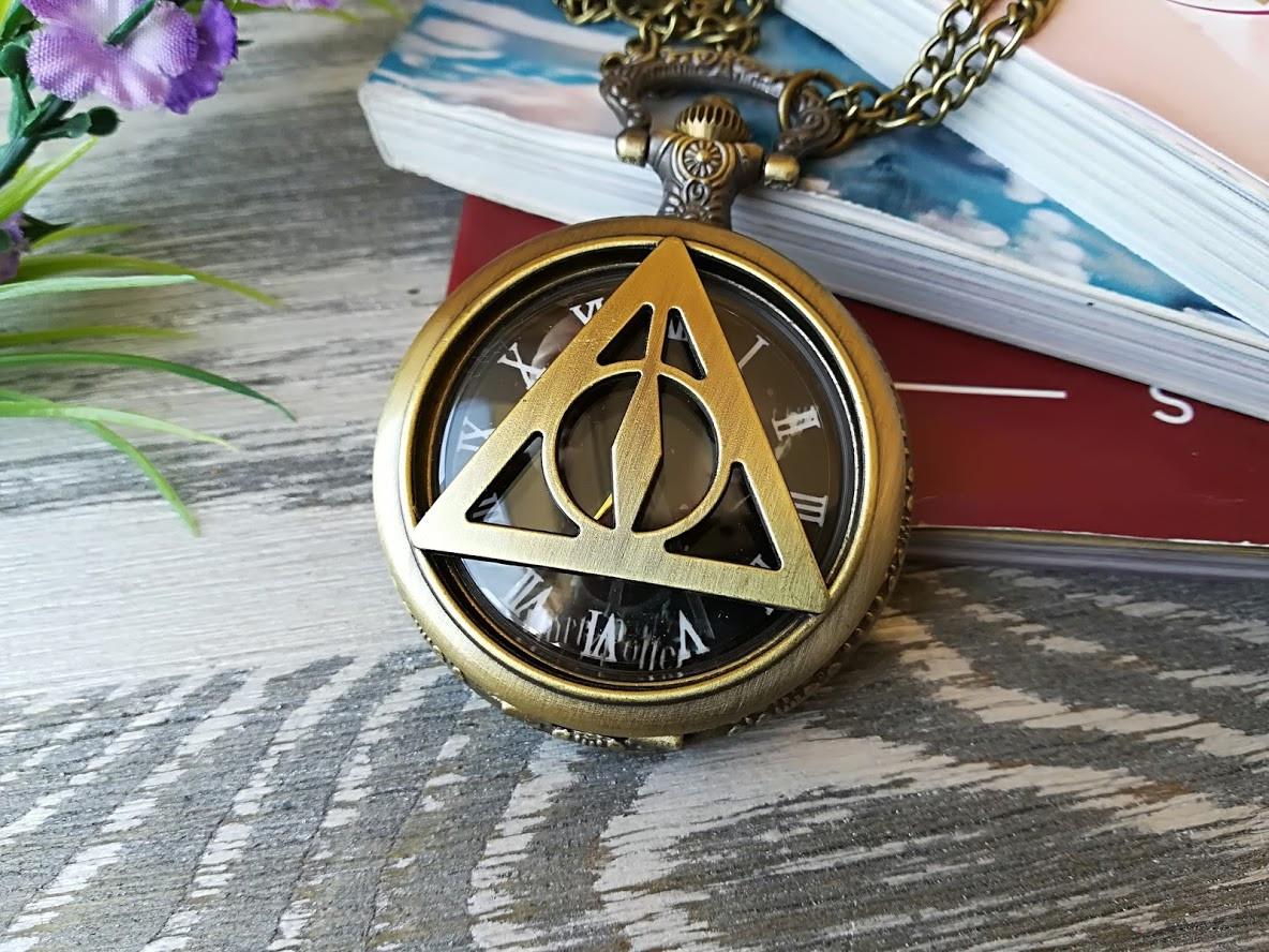 Часы Кулон Дары Смерти Гарри Поттер Harry Potter 2