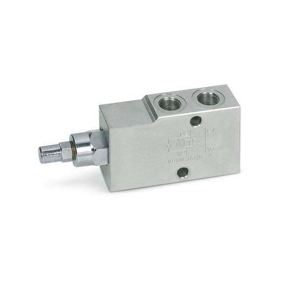 """Клапан односторонньої дії Hydro-pack типу A - VBCD 1/4 """" SE / A"""