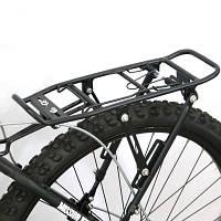 """Велосипедный багажник """"Раздвижной"""" 24-29"""" алюминиевый"""