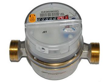 Лічильник на гарячу воду sensus residia jet ду15 Q3 2.5