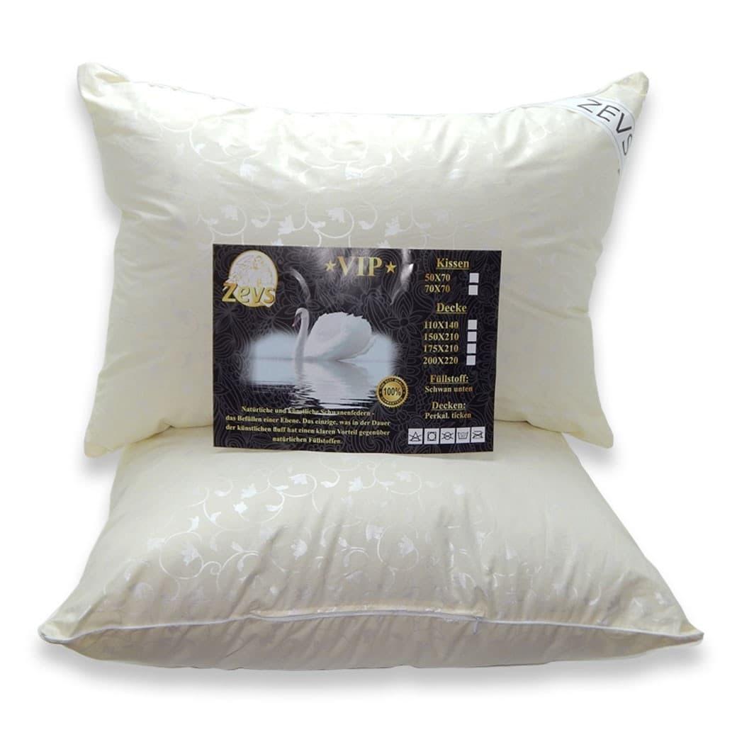 Подушка Zevs искуственный лебяжий пух VIP 70*70