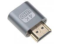 Виртуальная вилка HDMI адаптер 4K Эмулятор монитора для видеокарт