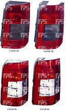 Фонарь задний левый Citroen Berlingo до 2002 гв. ( Ситроен Берлинго )