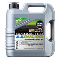 Синтетическое моторное масло - special tec аа 0w-20   4 л.