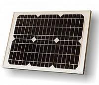 Універсальна сонячна панель UKC Solar Panel 10 W 18V з щупами (34*23 см), фото 1
