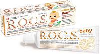 РОКС Baby Зубная паста с экстрактом Айвы от 0-3 года (45 г) (4607034473648)