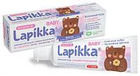Зубная паста Lapikka Baby Бережный уход с кальцием и календулой 45 г (4607034473532)