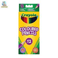 Карандаши цветные, 12 цветов