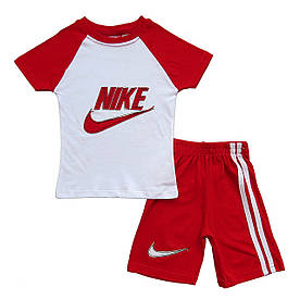 Летний костюм Nike для мальчика. 1, 2, 3, 4 года