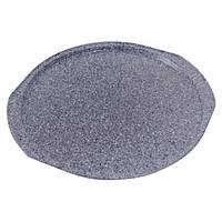 Форма для выпечки пиццы с антипригарным гранитным покрытием 35,5х33х1,5 см Con Brio CB-513