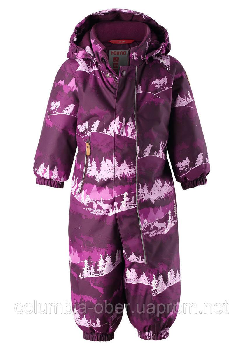 Зимний комбинезон для девочки Reimatec Puhuri 510306.9-4967. Размеры 92 и  98.