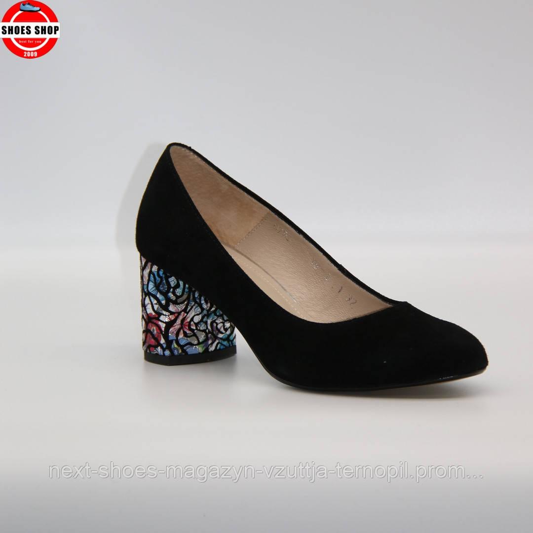 Жіночі туфлі Ann Mex (Польща) чорного кольору. Гарні та комфортні. Стиль: Ешлі Бенсон