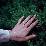 """Серебряное кольцо """"Прикосновение природы"""", фото 2"""
