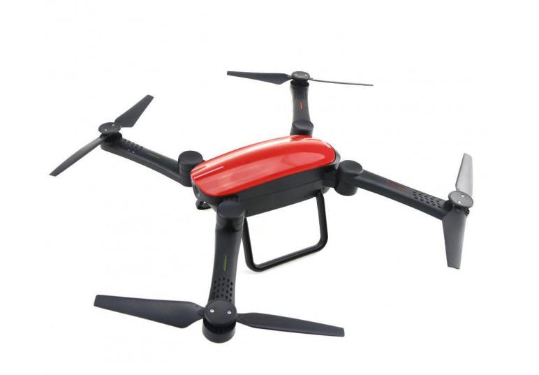 Квадрокоптер Air Musha X9TW складной, WiFi камера Red (MushaOD)