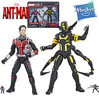 Набор 4в1 фигурки Человек Муравей и Хенк Пим Hasbro Ant-Man And Yellowjacket E2484