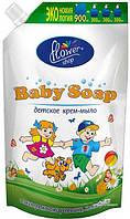 Flower Shop Жидкое детское мыло с ромашкой 900 мл дой-пак (4820046282514)