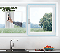 Окно Kommerling 76мм AD с автоматическим проветриванием
