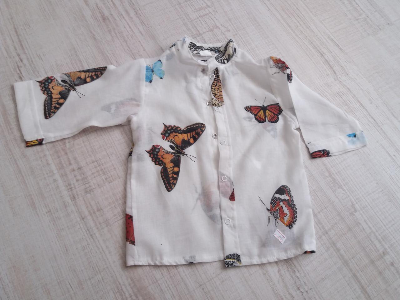 Рубаха для пляжа (марлевка)  ТМ Family Pupchik