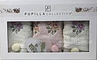 Подарочный, кухонный набор бамбуковых  полотенец, Pupilla