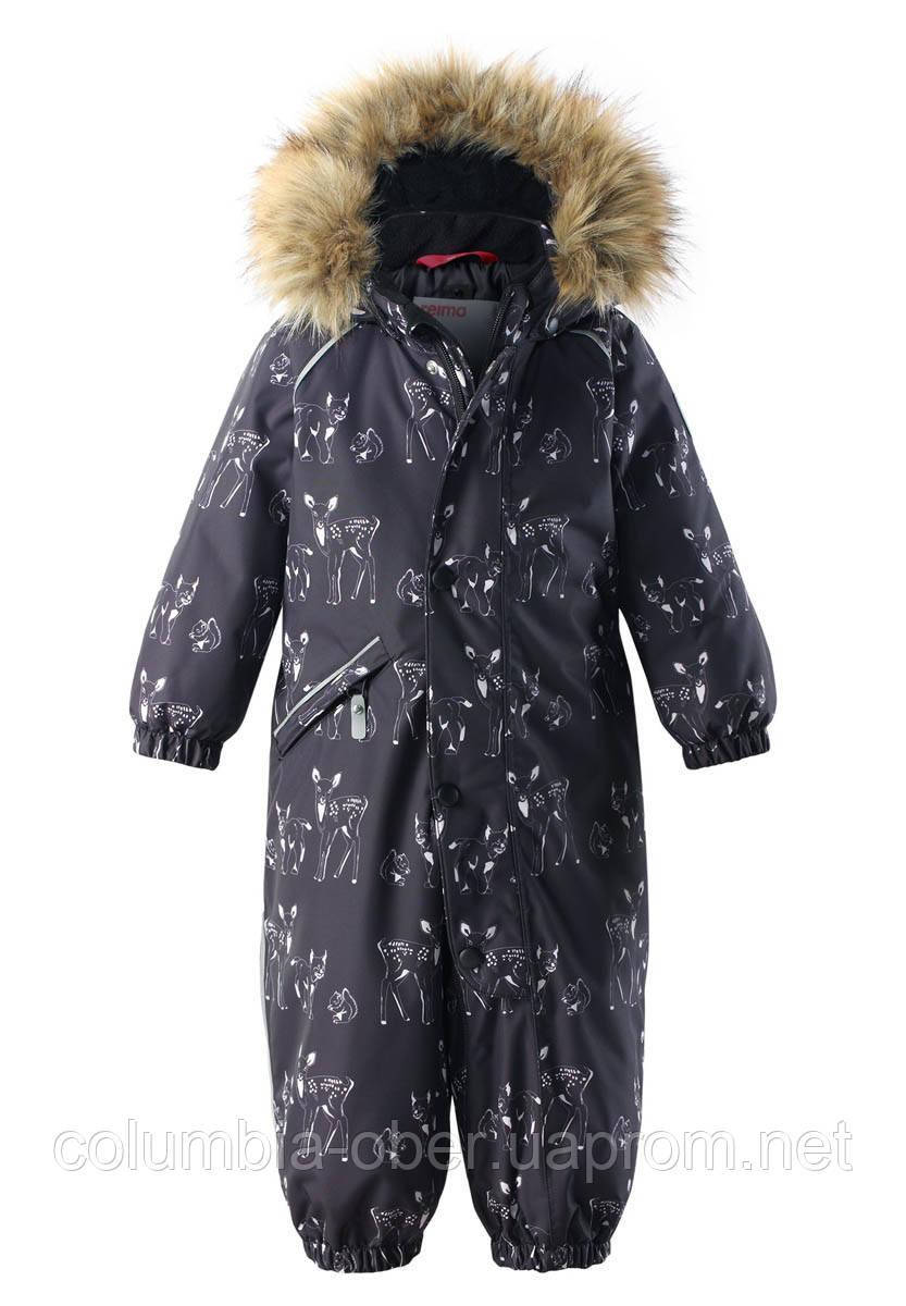 Зимний комбинезон для мальчиков Reimatec Lappi 510308.9-9996. Размеры 74 - 98.